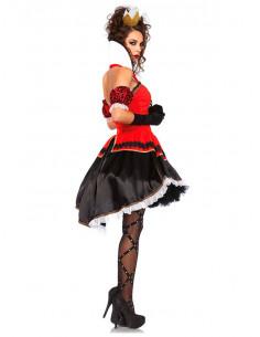 Pirate noir dentelle jarretière poignard mini épée déguisement enterrement vie jeune fille coquine costume