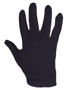 Gants coton noir