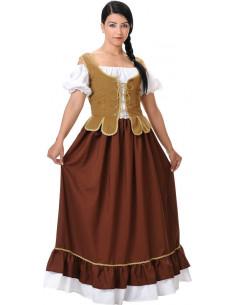 Déguisement médiéval tavernière femme