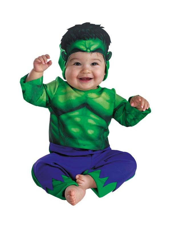 Déguisement Hulk bébé