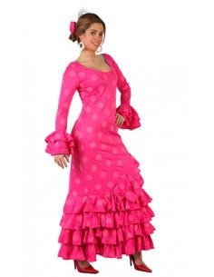 Déguisement Flamenco rose
