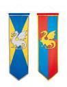 bannière médiévale