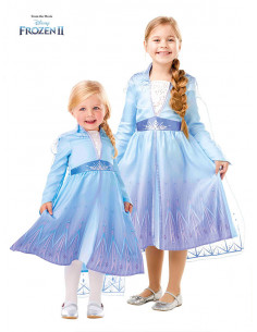 Déguisement Elsa La Reine des Neiges 2 pour fille