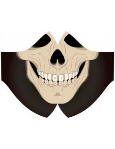 Masque hygiénique squelette