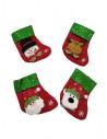 Chaussettes pour la décoration de Noël