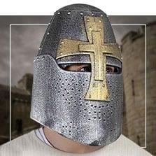Casques médiéval