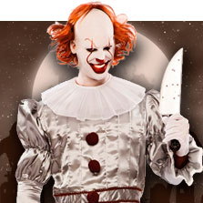 deguisements Clowns Assassins homme