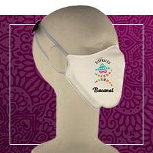 Masque en tissu hygiénique personnalisable