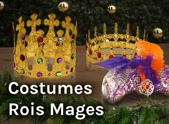 costumes rois mages